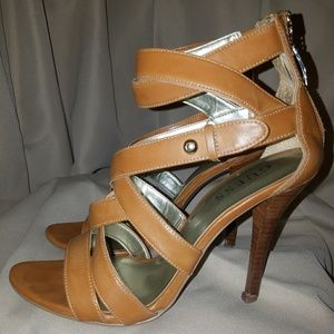 Guess strappy heels (size 8)